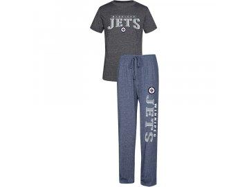 Pánské Pyžamo Winnipeg Jets Spar Top & Pants Sleep Set