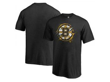 Tričko Boston Bruins Splatter Logo