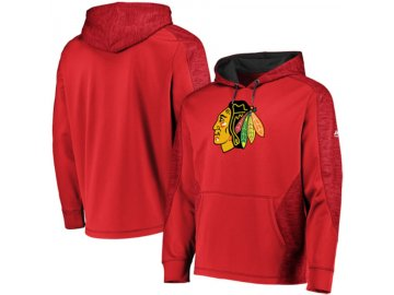 Mikina Chicago Blackhawks Majestic Armor Therma Base Pullover Hoodie