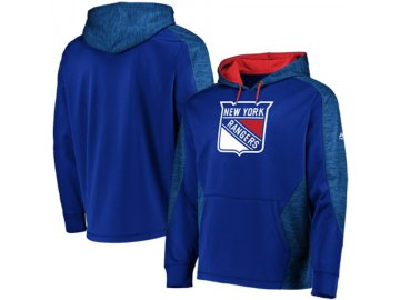 Mikina New York Rangers Majestic Armor Therma Base Pullover Hoodie