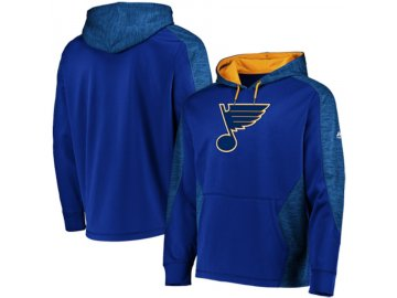 Mikina St. Louis Blues Majestic Armor Therma Base Pullover Hoodie