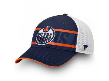 Kšiltovka Edmonton Oilers Authentic Pro Second Season Trucker