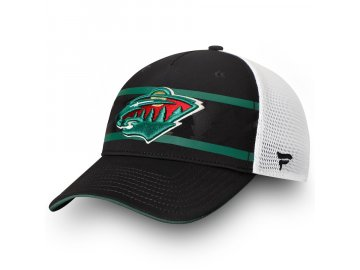 Kšiltovka Minnesota Wild Authentic Pro Second Season Trucker