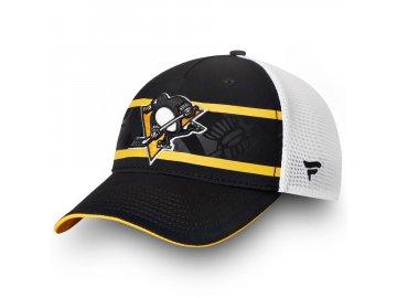 Kšiltovka Pittsburgh Penguins Authentic Pro Second Season Trucker