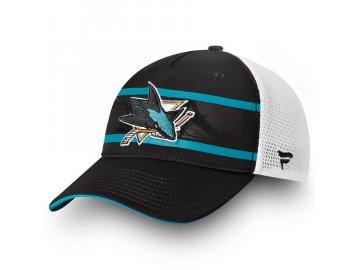 Kšiltovka San Jose Sharks Authentic Pro Second Season Trucker
