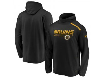Mikina Boston Bruins Authentic Pro Rinkside Transitional Pullover Hoodie