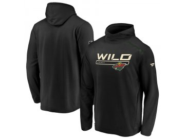 Mikina Minnesota Wild Authentic Pro Rinkside Transitional Pullover Hoodie