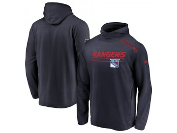 Mikina New York Rangers Authentic Pro Rinkside Transitional Pullover Hoodie