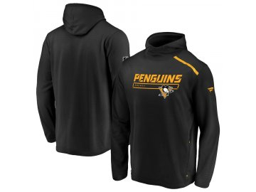 Mikina Pittsburgh Penguins Authentic Pro Rinkside Transitional Pullover Hoodie