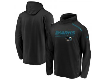 Mikina San Jose Sharks Authentic Pro Rinkside Transitional Pullover Hoodie