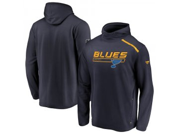 Mikina St. Louis Blues Authentic Pro Rinkside Transitional Pullover Hoodie