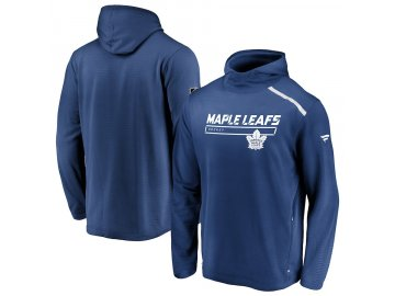 Mikina Toronto Maple Leafs Authentic Pro Rinkside Transitional Pullover Hoodie