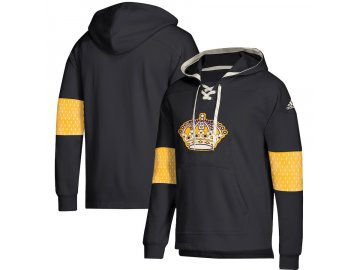 Mikina Los Angeles Kings Adidas Jersey Lace-Up Pullover Hoodie