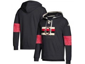 Mikina Ottawa Senators Adidas Jersey Lace-Up Pullover Hoodie