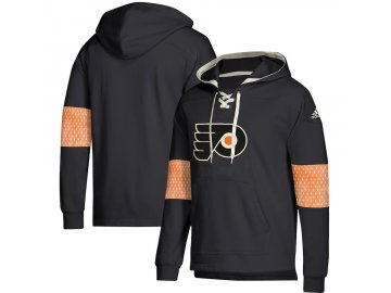 Mikina Philadelphia Flyers Adidas Jersey Lace-Up Pullover Hoodie