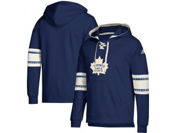 Mikina Toronto Maple Leafs Adidas Jersey Lace-Up Pullover Hoodie