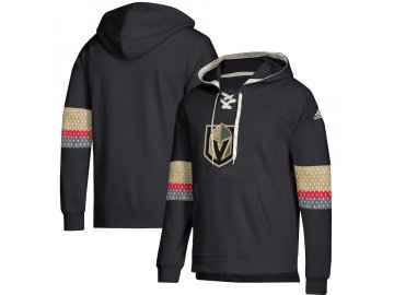 Mikina Vegas Golden Knights Adidas Jersey Lace-Up Pullover Hoodie