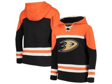 Dětská Mikina Anaheim Ducks Asset Lace-Up Pullover Hoodie