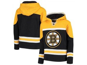 Dětská Mikina Boston Bruins Asset Lace-Up Pullover Hoodie