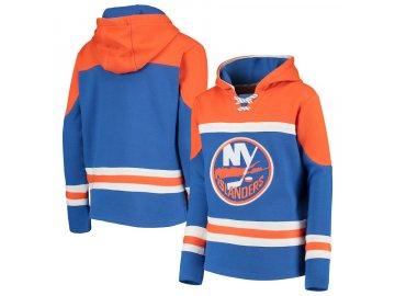 Dětská Mikina New York Islanders Asset Lace-Up Pullover Hoodie