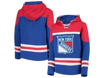 Dětská Mikina New York Rangers Asset Lace-Up Pullover Hoodie
