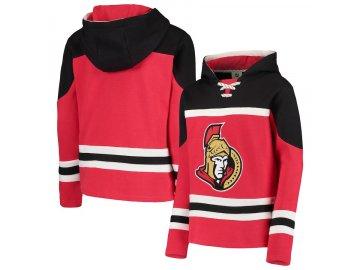 Dětská Mikina Ottawa Senators Asset Lace-Up Pullover Hoodie