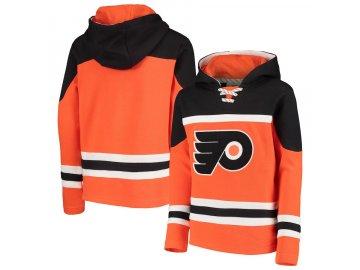 Dětská Mikina Philadelphia Flyers Asset Lace-Up Pullover Hoodie