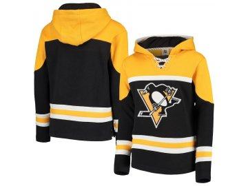 Dětská Mikina Pittsburgh Penguins Asset Lace-Up Pullover Hoodie