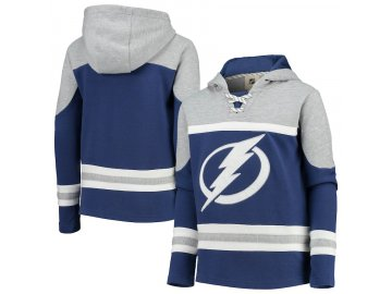Dětská Mikina Tampa Bay Lightning Asset Lace-Up Pullover Hoodie