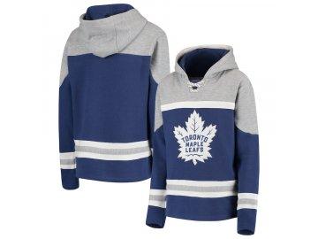 Dětská Mikina Toronto Maple Leafs Asset Lace-Up Pullover Hoodie
