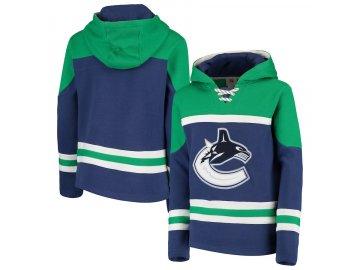 Dětská Mikina Vancouver Canucks Asset Lace-Up Pullover Hoodie 241901e6b93