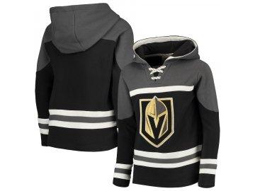 Dětská Mikina Vegas Golden Knights Asset Lace-Up Pullover Hoodie