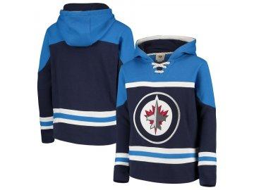 Dětská Mikina Winnipeg Jets Asset Lace-Up Pullover Hoodie