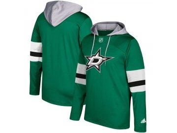 Mikina Dallas Stars Adidas Jersey Pullover Hoodie