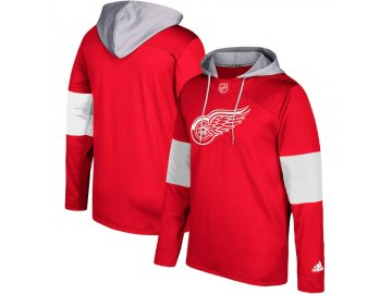 Mikina Detroit Red Wings Adidas Jersey Pullover Hoodie