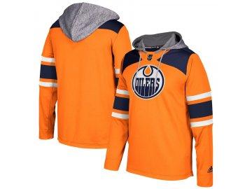 Mikina Edmonton Oilers Adidas Jersey Pullover Hoodie