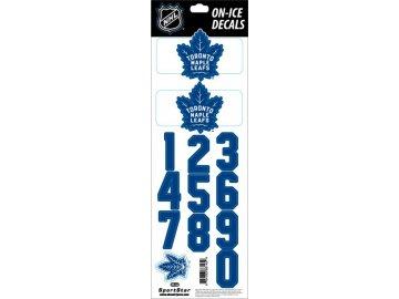 Samolepky na helmu Toronto Maple Leafs Decals