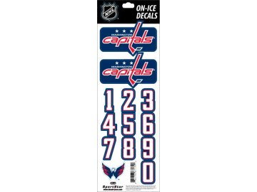 Samolepky na helmu Washington Capitals Decals Navy