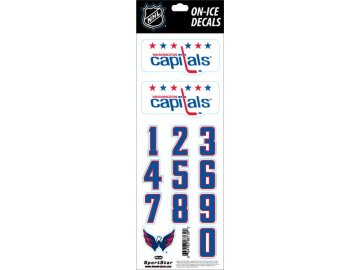 Samolepky na helmu Washington Capitals Decals Retro