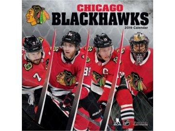 Kalendář Chicago Blackhawks 2019