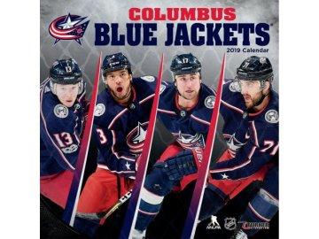 Kalendář Columbus Blue Jackets 2019