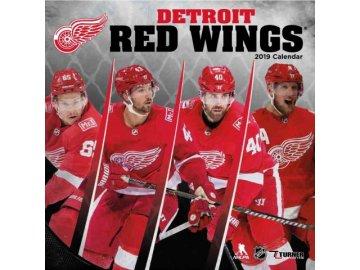 Kalendář Detroit Red Wings 2019