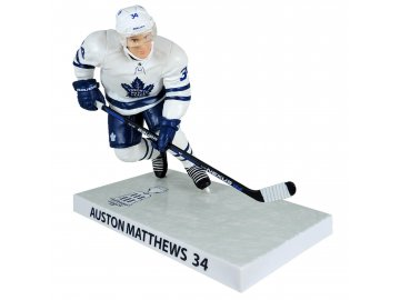 Figurka Toronto Maple Leafs Auston Matthews #34 CALDER TROPHY WINNER Imports Dragon Player Replica