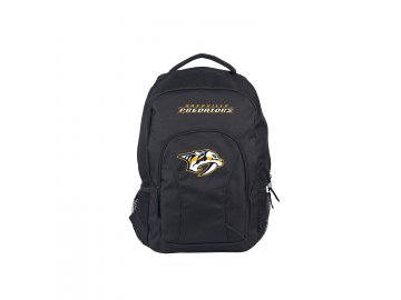 C10 5807,NHL Backpack(DraftDay) Predators black,black front