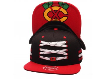 Zephyr Lacer Locker Chicago Blackhawks BLACK