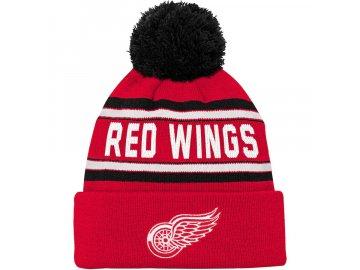 Dětská Zimní Čepice Detroit Red Wings Wordmark