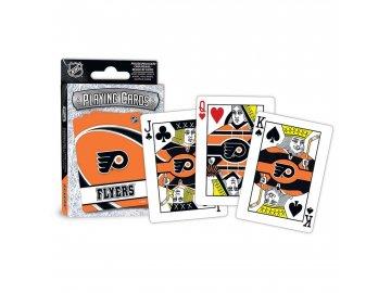 Hrací Karty Philadelphia Flyers