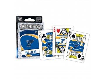 Hrací Karty St. Louis Blues