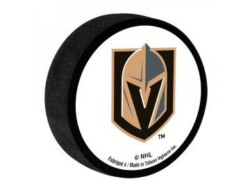 VEGAS GOLDEN KNIGHTS FOAM PUCK 900x900