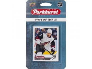 Hokejové karty NHL 2018-19 Upper Deck Parkhurst Arizona Coyotes Team Card Set
